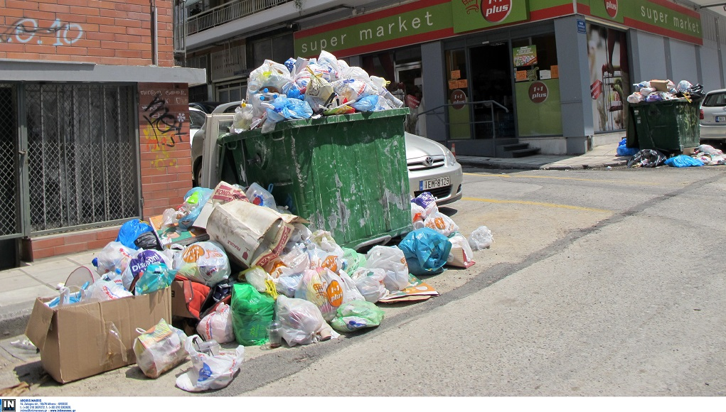 Θεσσαλονίκη: Δεν μειώθηκε ο όγκος των σκουπιδιών