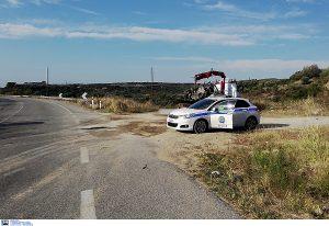 Επεισοδιακή σύλληψη στην Εγνατία – Εμβόλισαν αστυνομικά οχήματα
