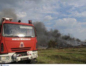 Υψηλός κίνδυνος πυρκαγιάς αύριο (Χάρτης)