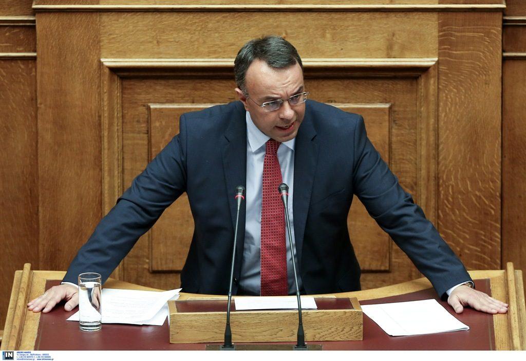 Χρ. Σταϊκούρας: Σχεδιάζονται πρόσθετες φοροελαφρύνσεις