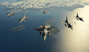 Υπερπτήσεις τουρκικών μαχητικών πάνω από ελληνικά νησιά