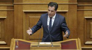 Γεωργιάδης: Κουντουρά και Μπόλαρης για τα υπουργεία ξεπουλάνε τη Μακεδονία