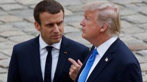 Τραμπ προς Μακρόν: Κανείς δεν μιλάει εκ μέρους των ΗΠΑ