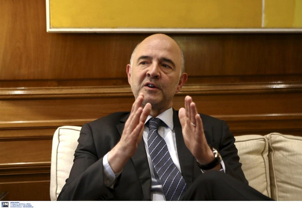 ΠιερΜοσκοβισί : Η πόρτα μου παραμένει ανοιχτή για συζητήσεις με την Ιταλία