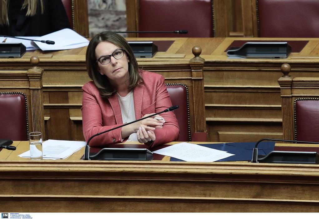 Κ. Παπανάτσιου: Οι δικαιολογίες για τις εικόνες ντροπής στη Σαμοθράκη, φανερώνουν ανεπάρκεια