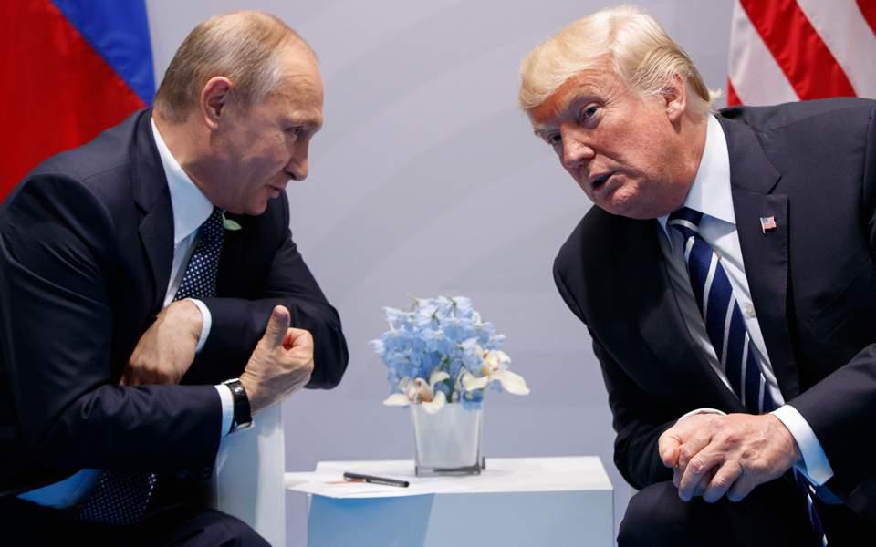 Το Κρεμλίνο ελπίζει σε συνάντηση Πούτιν – Τραμπ