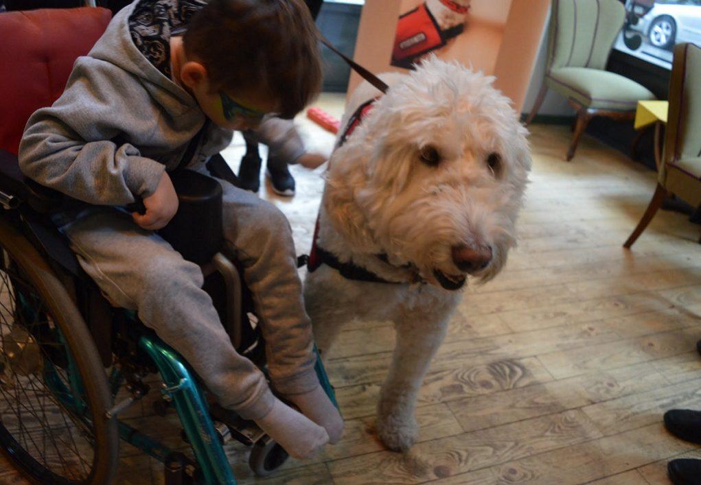 Βοηθοί σκύλοι αλλάζουν τη ζωή παιδιών με αναπηρίες