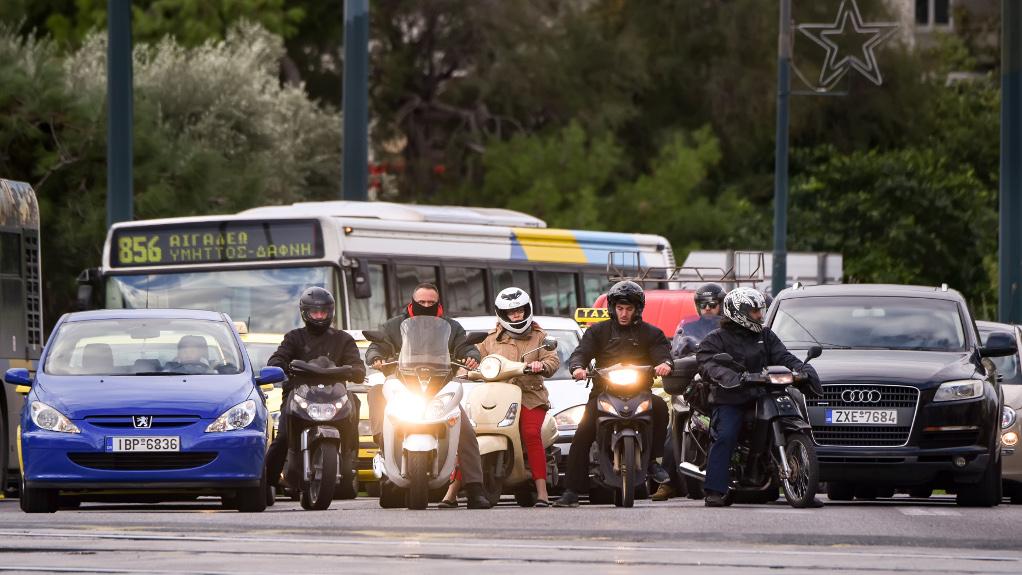 Αθήνα: Έκτακτες κυκλοφοριακές ρυθμίσεις στο κέντρο λόγω συγκεντρώσεων
