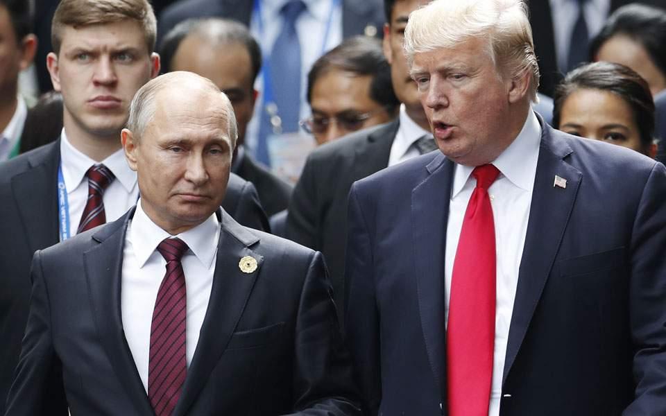 Τηλεφωνική επικοινωνία Τραμπ-Πούτιν για τα πυρηνικά
