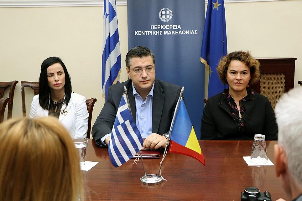 Εμπορική συνεργασία με στόχο την αεροπορική σύνδεση Θεσσαλονίκης – Κραϊόβα