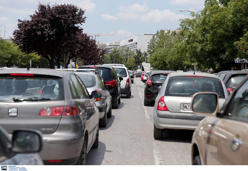 Αττική: Μποτιλιάρισμα σε αρκετούς δρόμους
