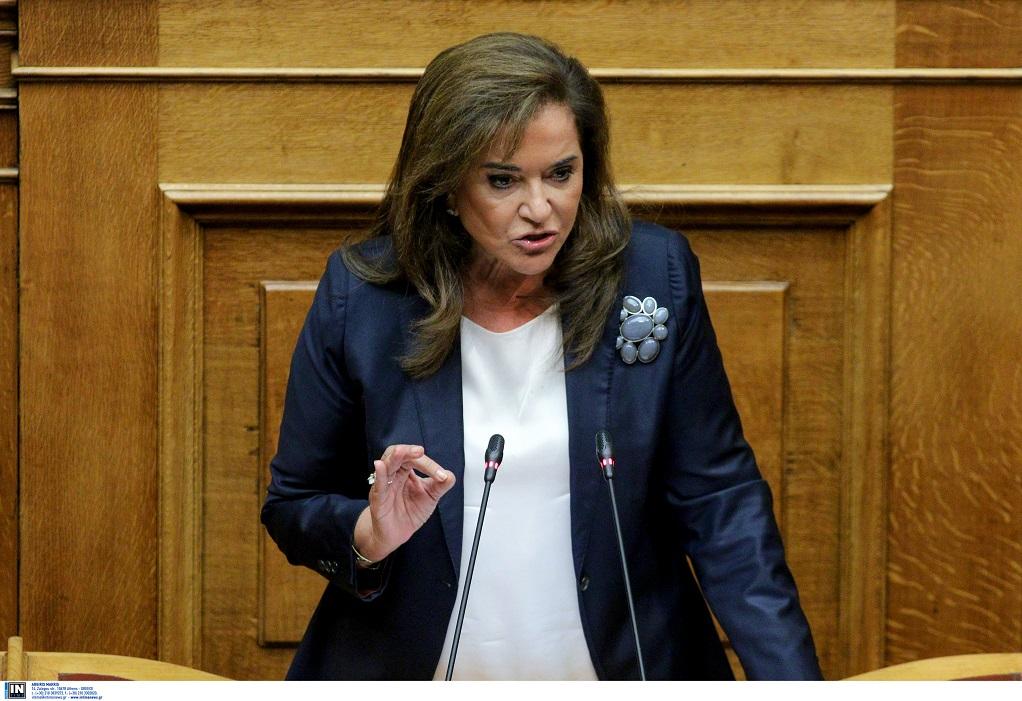 Ντ. Μπακογιάννη: Δεν θα μιλήσω ποτέ για Μακεδόνα πρωθυπουργό