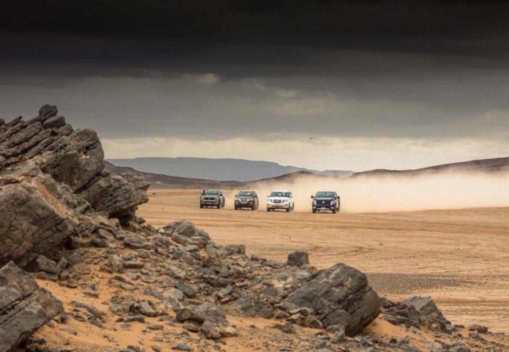 Με τα εργαλεία της Nissan «Patrol,  Navara, TITAN και Terra» στην έρημο της Σαχάρας