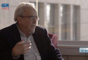 Α.Μπαλτάς: Η ΝΔ κατά κάποιον τρόπο ανέχεται τη Χ.Α (VIDEO)