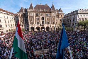 Ουγγαρία: Αντικυβερνητικές διαδηλώσεις στη Βουδαπέστη