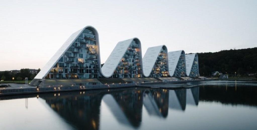 Διαμερίσματα με μορφή κύματος στη Δανία!