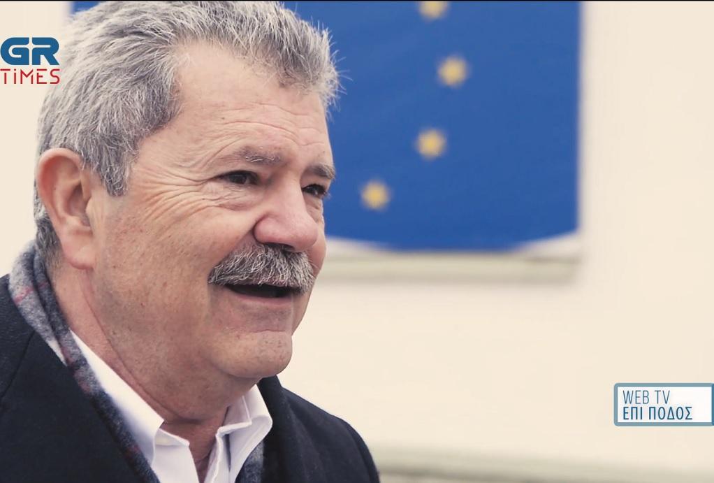 Ο Ε. Φωτόπουλος στο GrTimes (VIDEO)