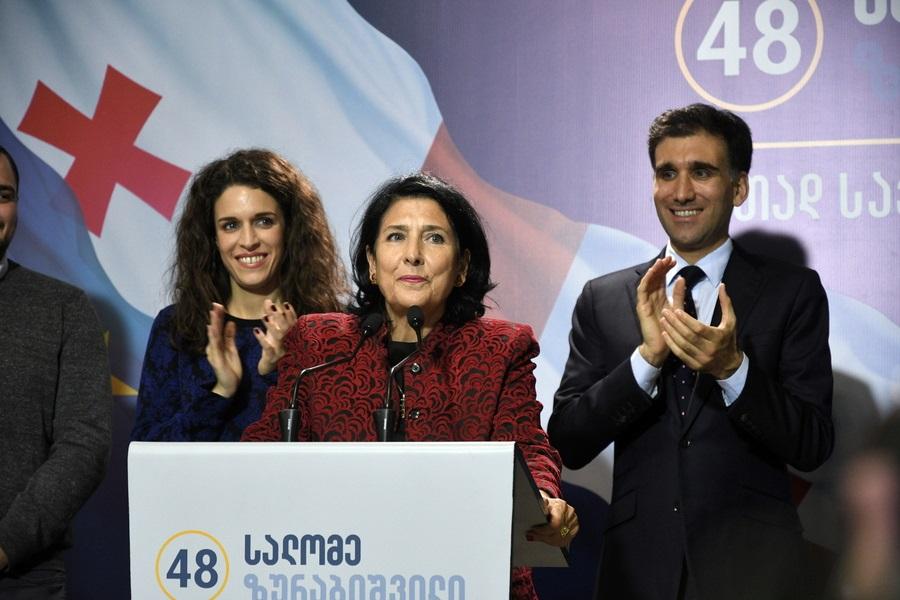 Για πρώτη φορά γυναίκα πρόεδρος στη Γεωργία