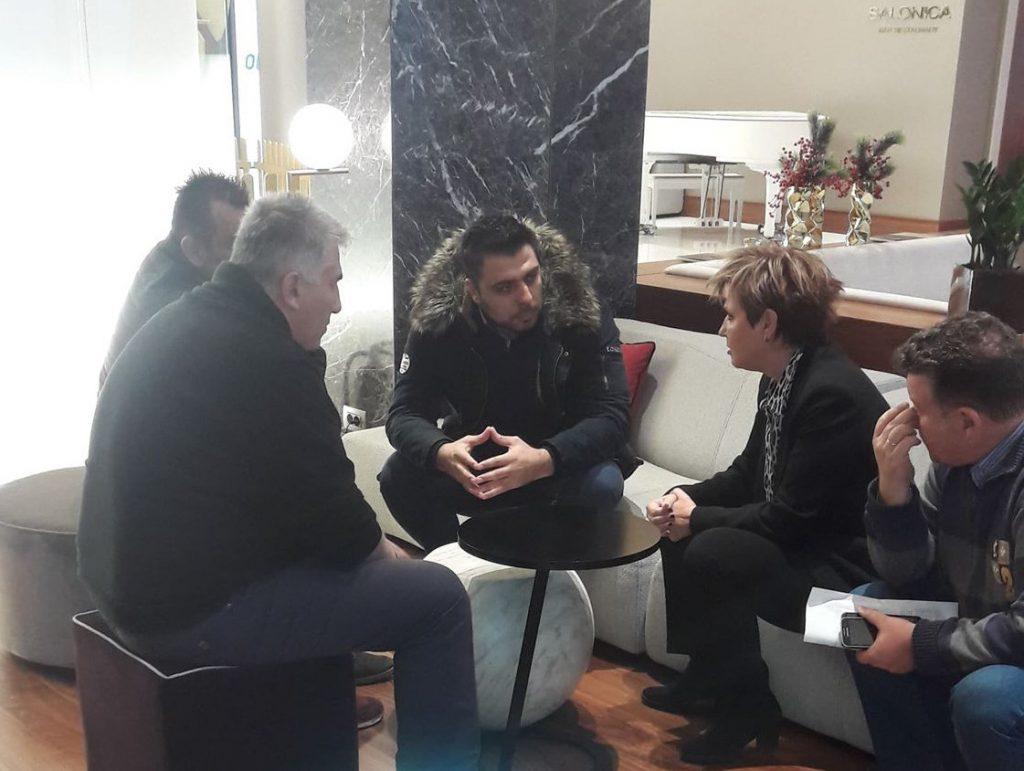 Αναδρομικά, ελλείψεις και μεταθέσεις στη συνάντηση Γεροβασίλη με τα μέλη της Ένωσης Αστυνομικών Υπαλλήλων Θεσσαλονίκης