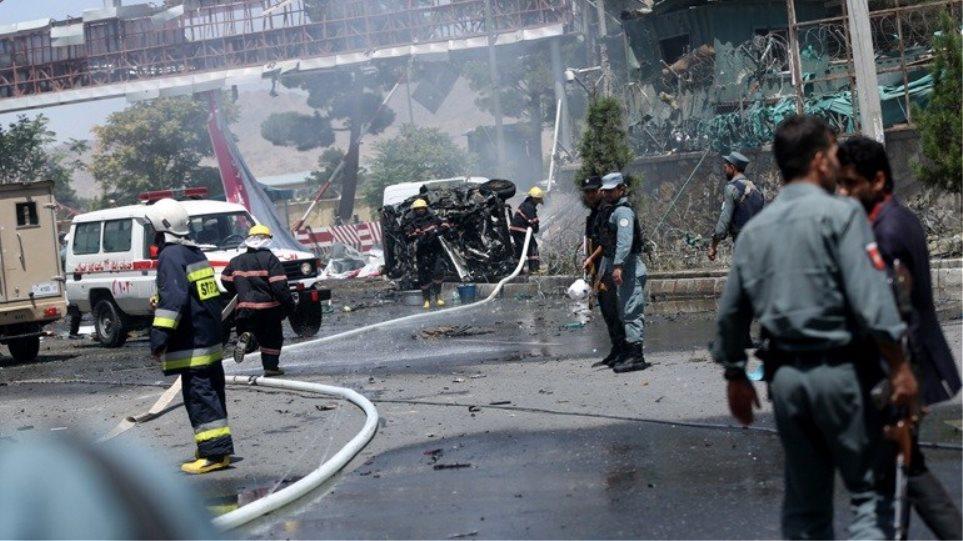 Βομβιστική επίθεση στο πανεπιστήμιο της Καμπούλ