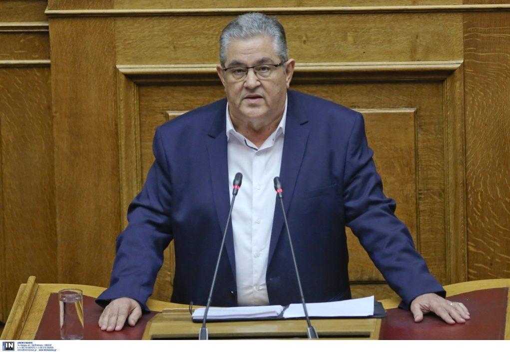 Κουτσούμπας: Να αποτελέσει κριτήριο ψήφου ότι το ΣΥΡΙΖΑ δένει πιο σφιχτά τη χώρα στο άρμα του ΝΑΤΟ
