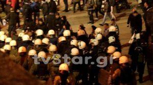 Επεισόδια στη Λαμία μετά τον αγώνα με τον ΠΑΟΚ (ΒΙΝΤΕΟ-ΦΩΤΟ)