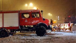 Διάσωση ατόμων σε Αρκαδία, Φθιώτιδα, Πιερία από την Πυροσβεστική