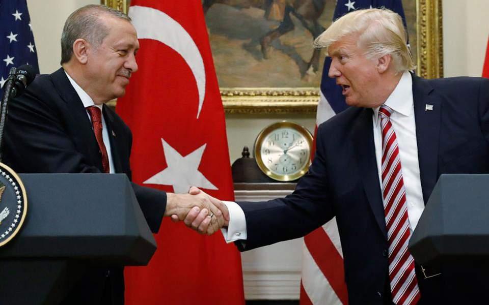Επίσκεψη Τραμπ στην Τουρκία προαναγγέλλει ο Ερντογάν