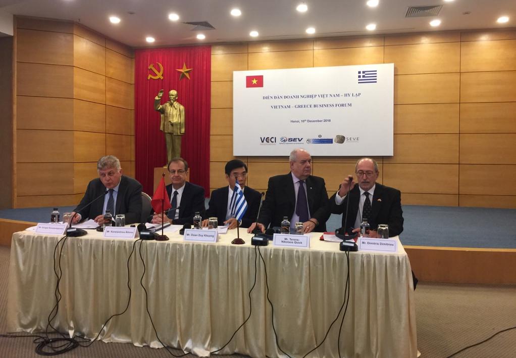 ΕΒΕΑ: Στο Βιετνάμ 12 ελληνικές εταιρείες