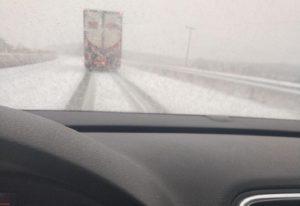 Δυτική Μακεδονία: Χιονοπτώσεις και προβλήματα στο οδικό δίκτυο