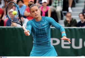 Τένις: Ανέβηκε μία θέση στην παγκόσμια κατάταξη η Σάκκαρη
