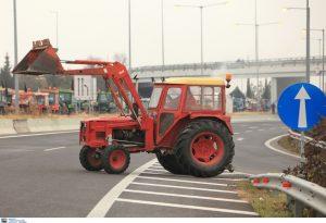 Καρδίτσα: Συμβολικός αποκλεισμός δρόμου από αγρότες