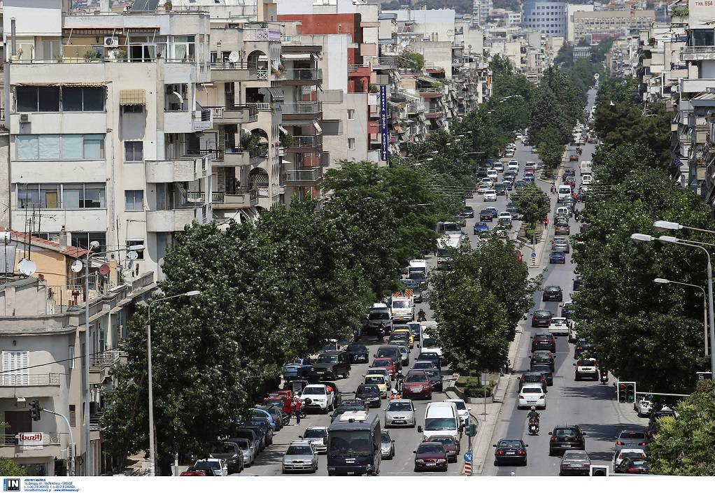 92a75599828e H κίνηση στους δρόμους της Θεσσαλονίκης - GR TimesGR Times
