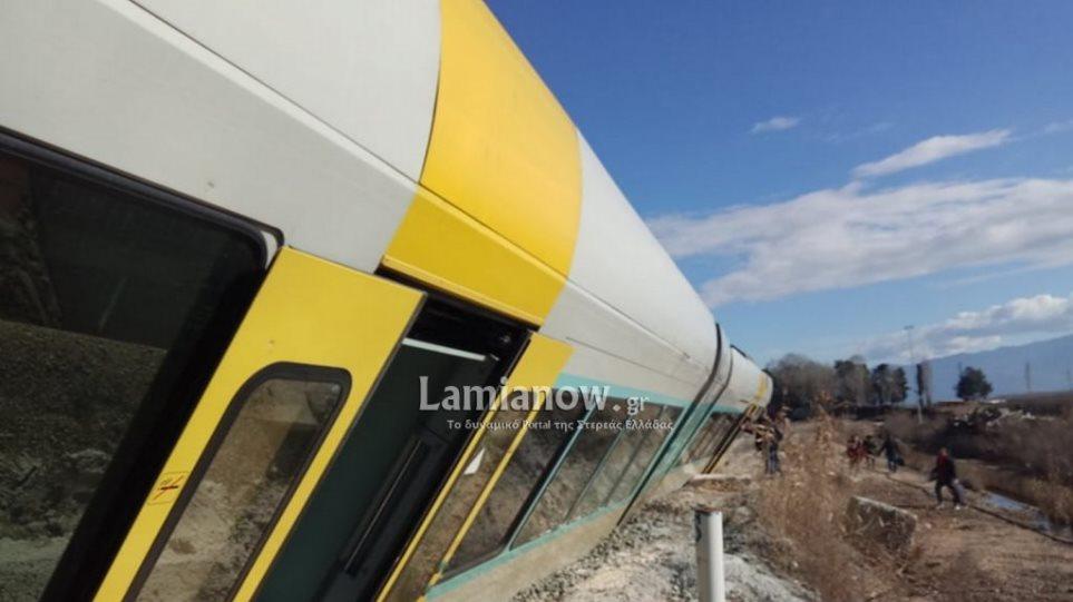 Η ανακοίνωση του ΟΣΕ για τον εκτροχιασμό τρένου