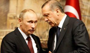 Πούτιν – Ερντογάν: Η ρωσοτουρκική συνεργασία αναπτύσσεται διαρκώς