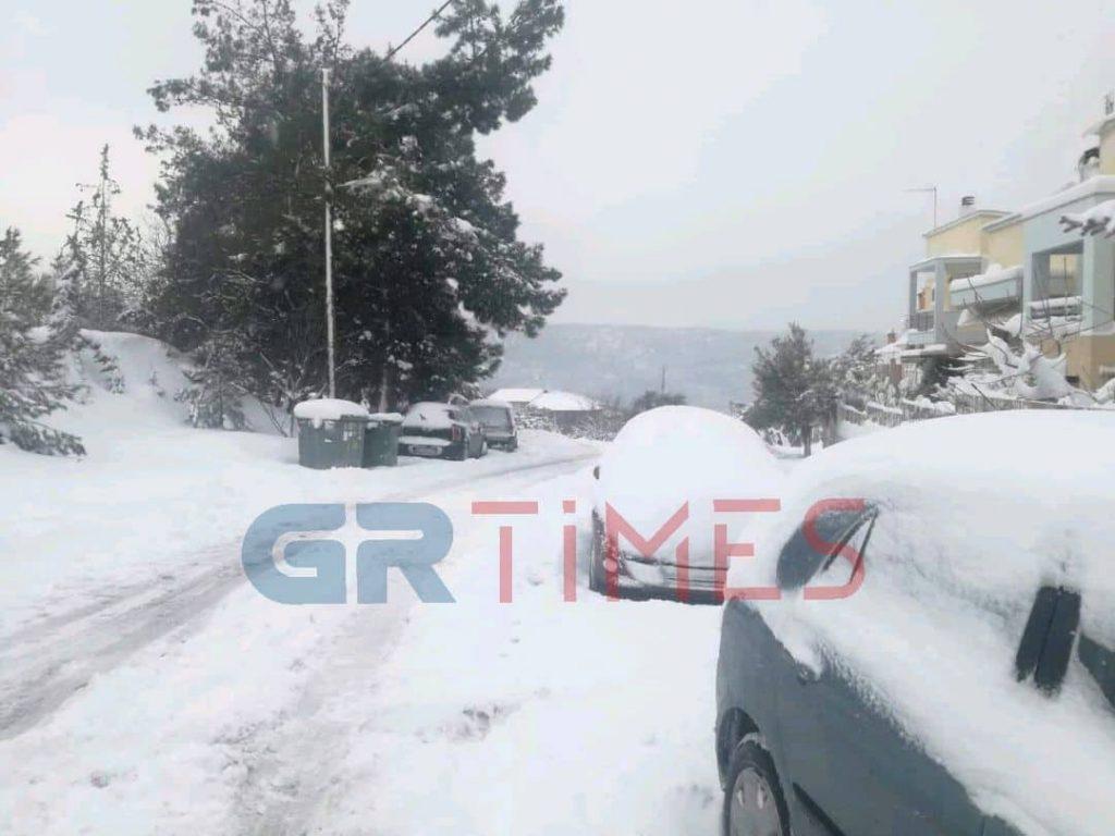 """Διακοπές ρεύματος προκάλεσε η """"Σοφία"""" – Προβλήματα από το χιόνι στο Ρετζίκι"""