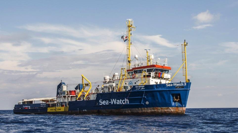 Απεργία πείνας από μετανάστες του Sea Watch