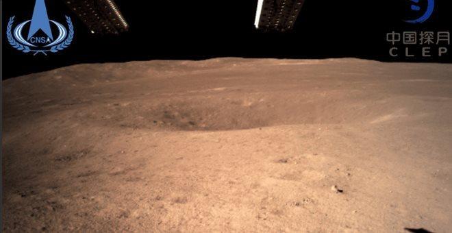 Το ρομποτικό όχημα Jadehase 2 στην αόρατη πλευρά  της Σελήνης