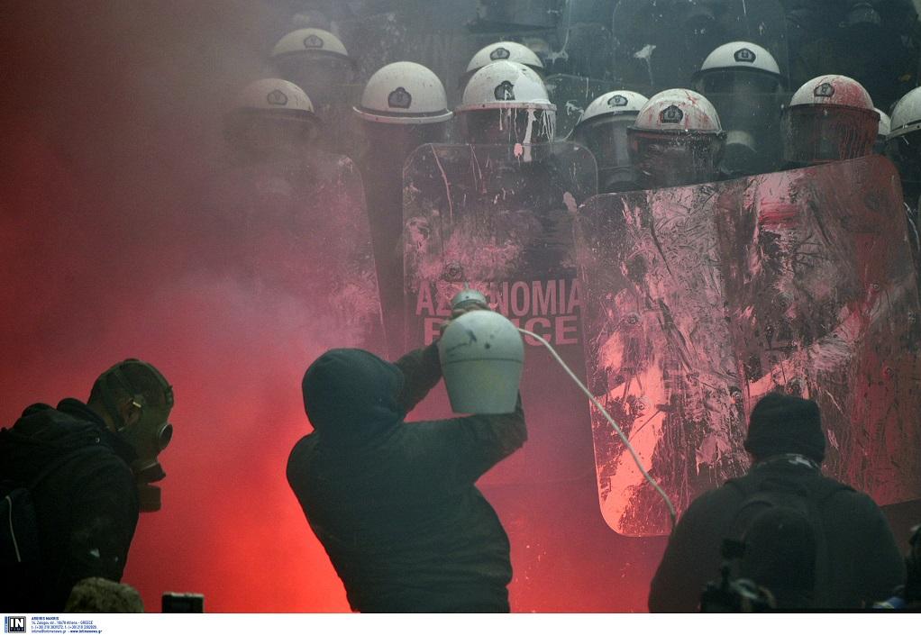 Πάνω από 1.500 αστυνομικοί στη Βουλή για τις διαδηλώσεις της Πέμπτης