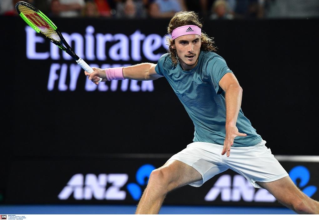 Australian Open: Αποκλείστηκε ο Στέφανος Τσιτσιπάς