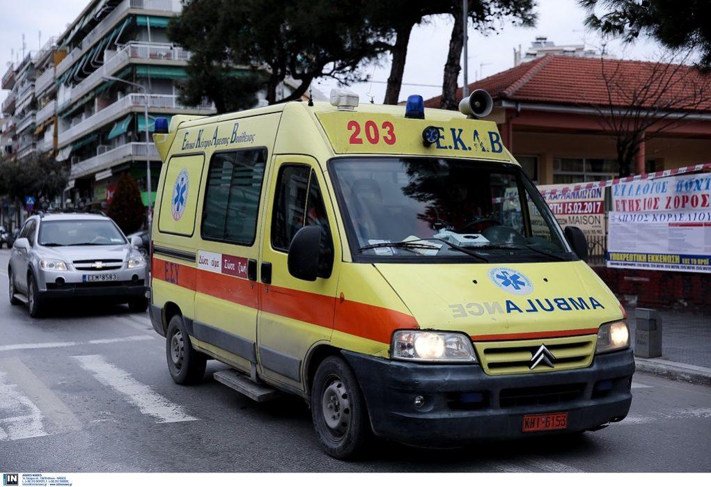 Τραυματισμός 47χρονου στο Λιμάνι Θεσσαλονίκης
