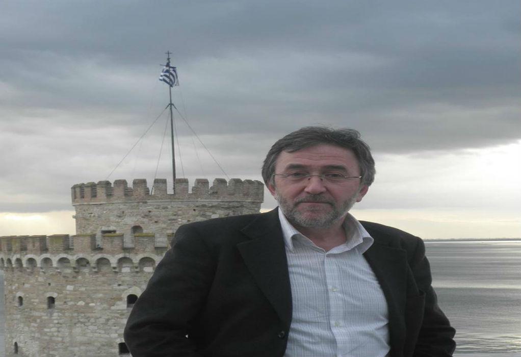 """Με τον Βούγια υποψήφιος ο δημοτικός σύμβουλος της """"Πρωτοβουλίας"""" Βασίλης Διαμαντάκης"""