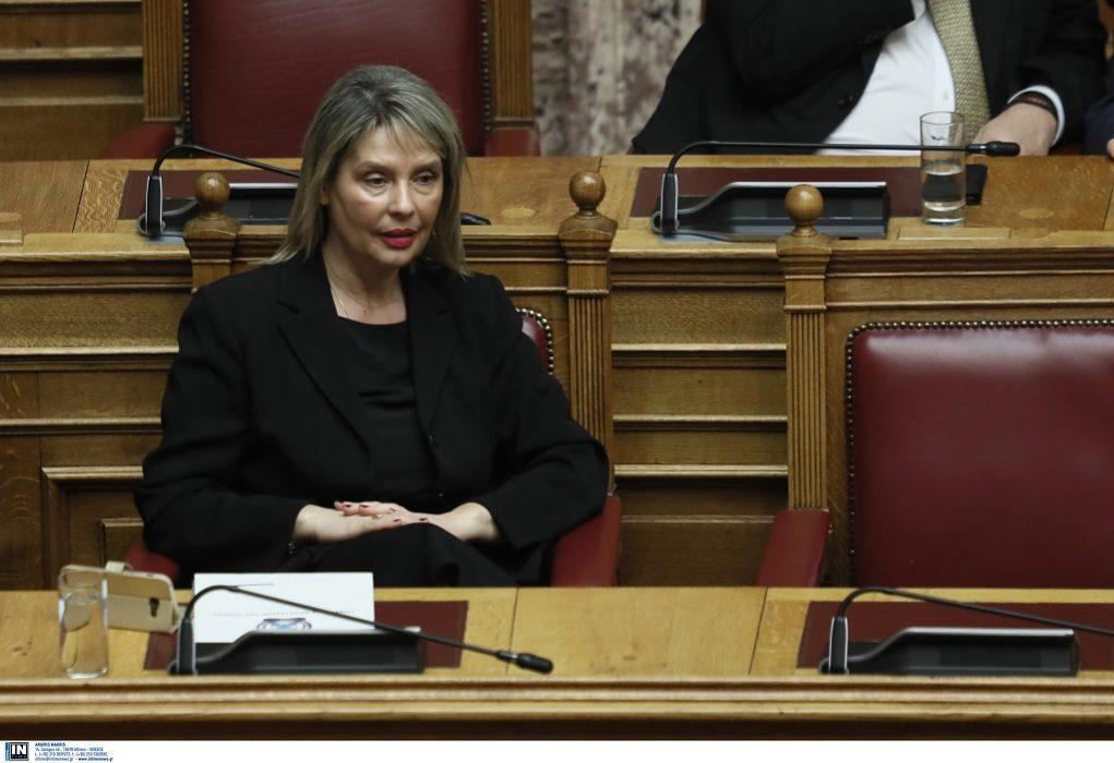 Παπακώστα: «Η συνεργασία με τον ΣΥΡΙΖΑ συντελέστηκε για την αποκατάσταση των αδικιών»