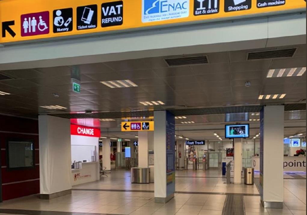 Ξανάνοιξε το αεροδρόμιο Τσιαμπίνο της Ρώμης