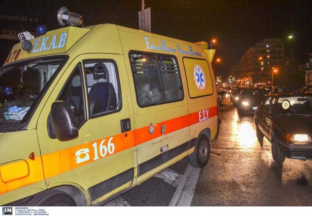 Θεσσαλονίκη-Έπεσε σε φωταγωγό πολυκατοικίας