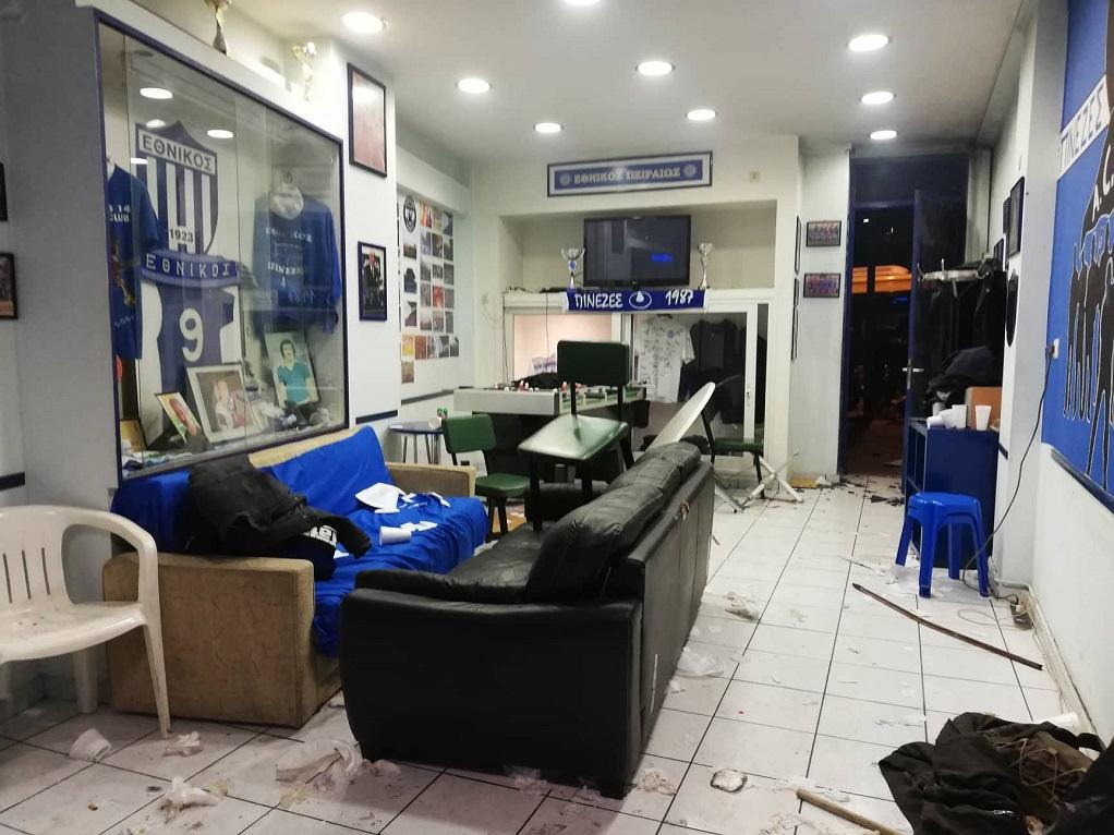 Επίθεση με μαχαίρια και τραυματισμοί σε εκδήλωση οπαδών του Εθνικού Πειραιώς