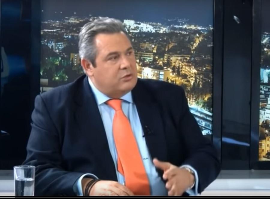 Καμμένος: «Με μια ίλη τεθωρακισμένων τα Σκόπια είναι 20 λεπτά δουλειά»