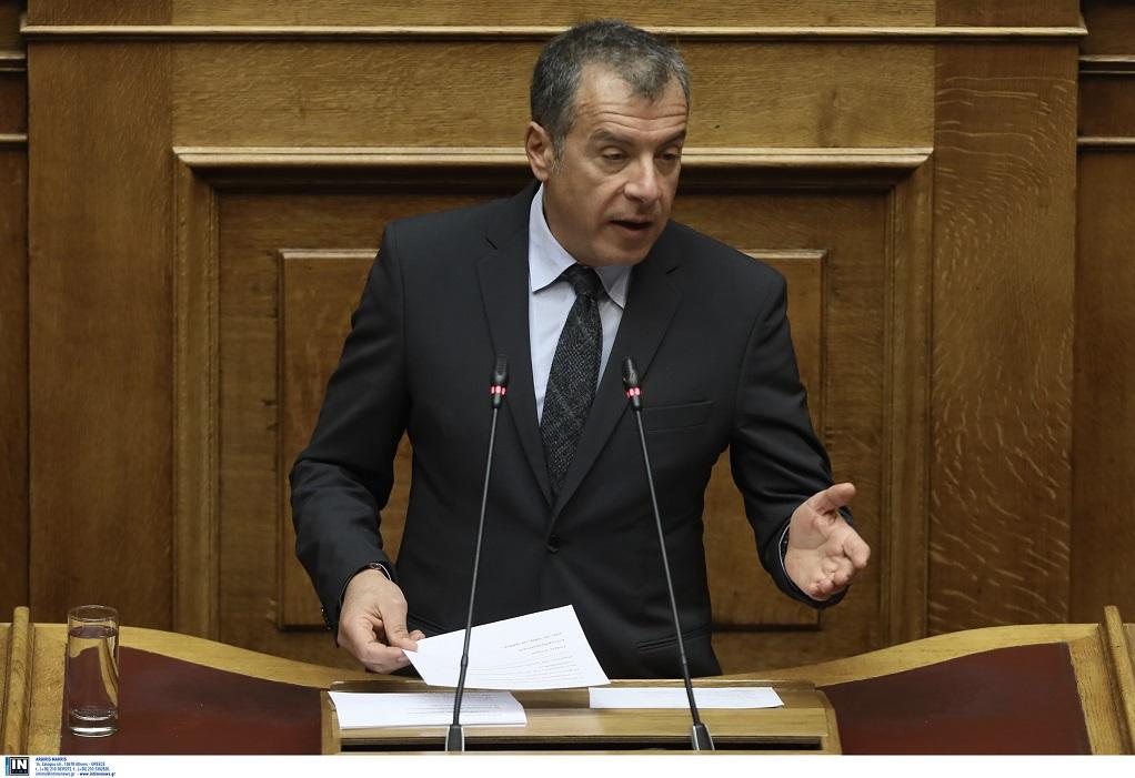 Θεοδωράκης: Το Ποτάμι είναι απέναντι στην πολιτική του ΣΥΡΙΖΑ