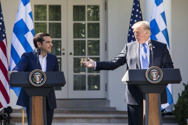 Επιστολή Τραμπ σε Τσίπρα: «Ιστορικό επίτευγμα η Συμφωνία των Πρεσπών»