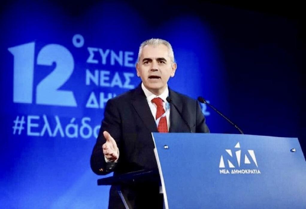 Χαρακόπουλος: Ιδιαίτερη τιμή αλλά και ευθύνη η πρωτιά
